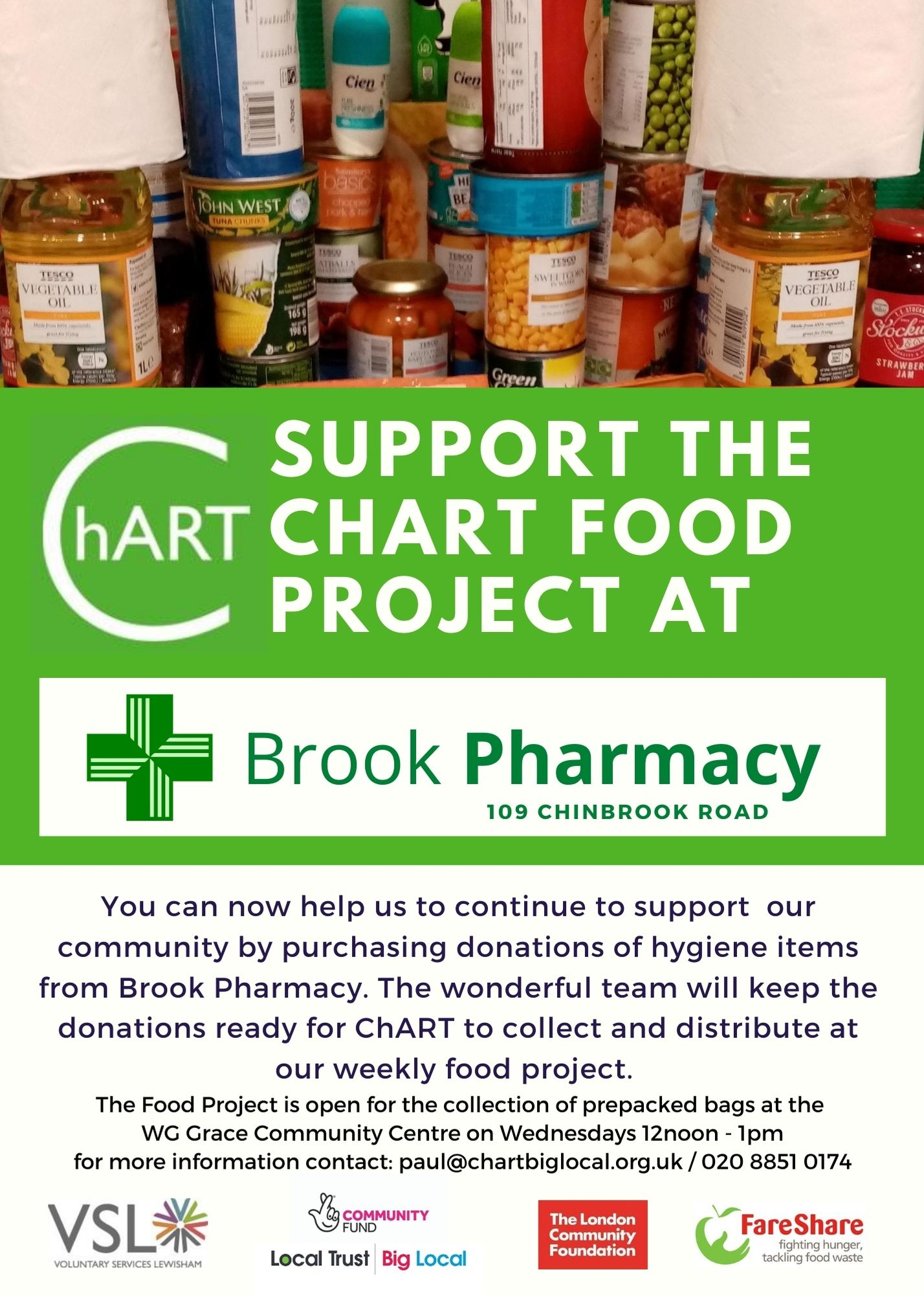 Copy of support food project brook pharmacy