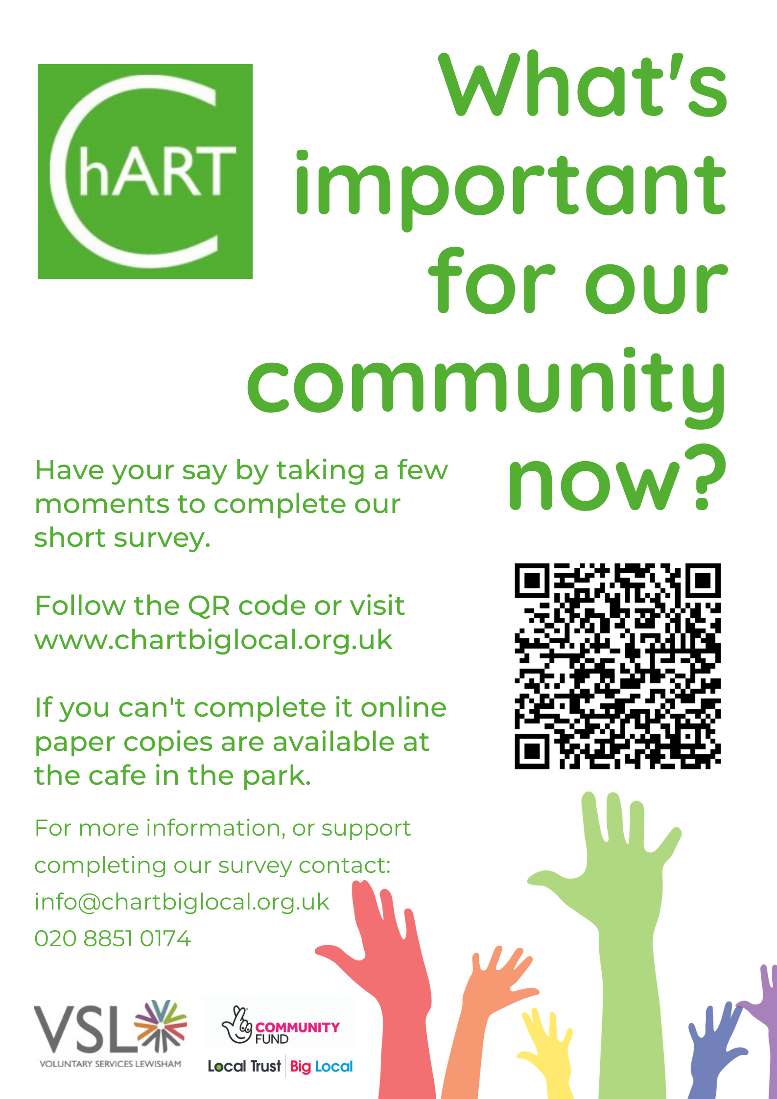 Poster for survey