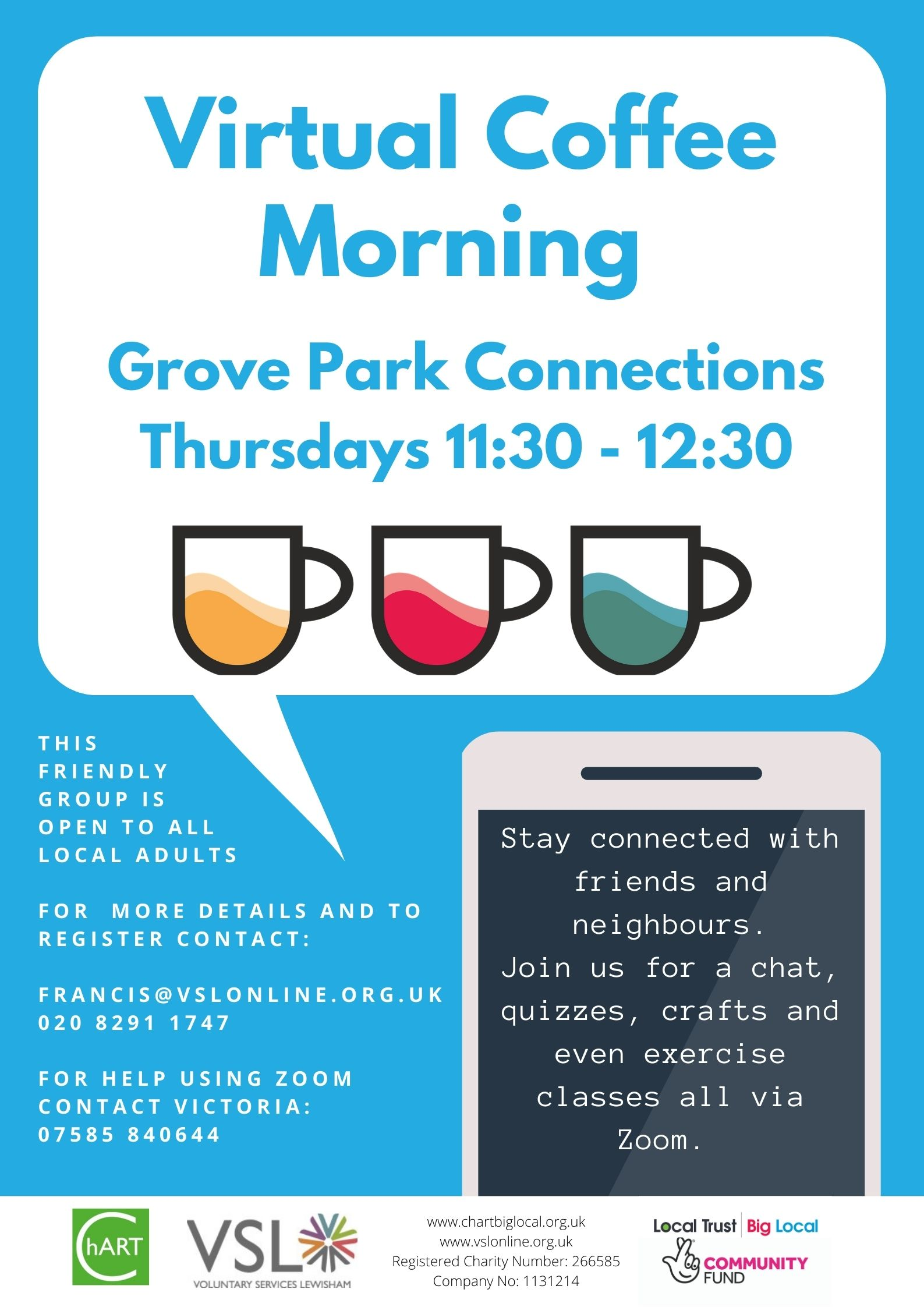 Virtual Coffee Morning GP Connections 2