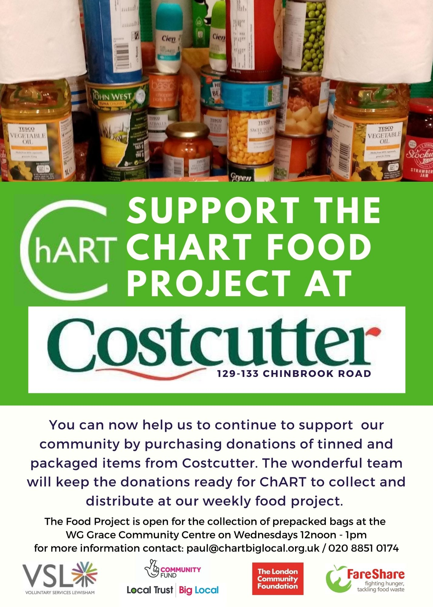 support food project costcutter